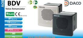 BDV-15KF-K Loa báo hiệu MP3 Patlite 15 âm MP3 87dB 110/220VAC IP54