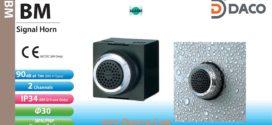 Còi báo hiệu Patlite, còi buzzer 2 âm báo 90dB, tròn Φ30, IP34, BM