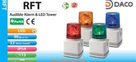 Đèn quay báo hiệu có Loa Patlite Φ100, 32 âm báo MP3, 90dB, LED, IP54, RFT
