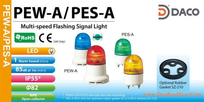 Den bao hieu Patlite PES-PEW-A Bong LED Nhap nhay