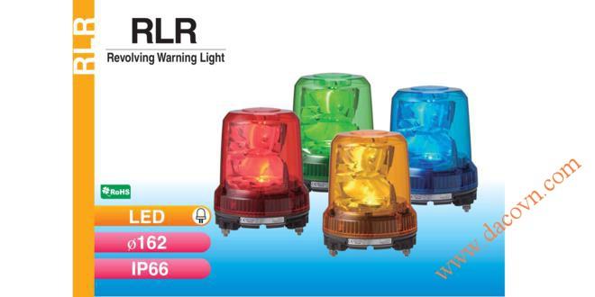Đèn báo hiệu quay chống rung Patlite, Đèn báo hiệu xoay Patlite RLR Φ162