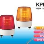 Den bao hieu canh bao tin hieu Patlite KPE, Đèn báo hiệu tín hiệu Patlite Φ162, bóng LED, nhấp nháy, IP23, KPE