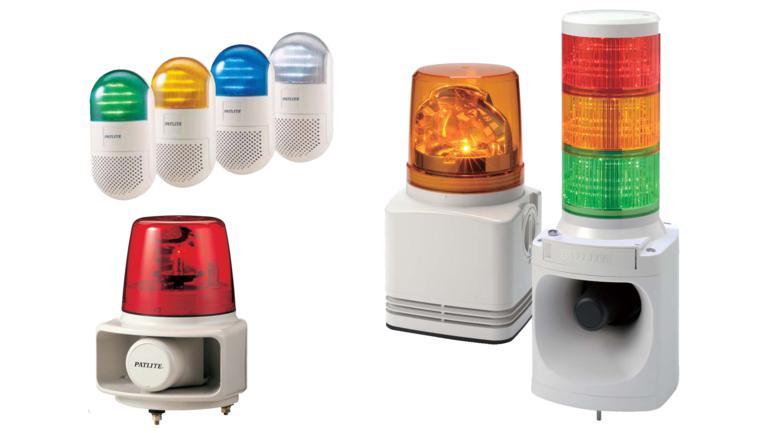 Đèn báo hiệu có loa tín hiệu Patlite, Bảng chọn Đèn báo hiệu báo có Loa tín hiệu kết hợp