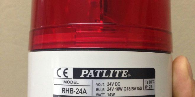 Den bao hieu quay co coi Patlite RHB-24A
