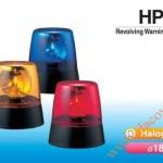 Den quay bao hieu Patlite HP-12, HP24, , Đèn quay báo hiệu Patlite Φ182, bóng Halogen, 12VDC/24VDC, HP-12/24