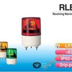 Đèn quay báo hiệu Patlite Φ82, bóng LED chùm, IP55, RLE