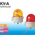 Đèn quay báo hiệu Patlite Φ204, bóng sợi đốt, chịu nhiệt, chống ăn mòn, IP66, SKV-A