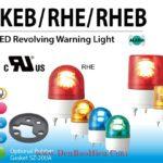 Den quay bao hieu bong LED Patlite RKE-RHE-RKEB-RHEB