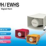Loa báo hiệu Patlite, 32 âm báo 105dB, thân nhựa, IP54/IP65, EWH/EWHS