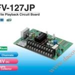 Bảng mạch phát chạy âm báo hiệu MP3 Patlite, Mạch phát báo hiệu MP3, FV-127JP