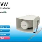 Loa báo hiệu Patlite, 15 kênh, 4 âm báo ghi âm 60s, 105dB, IP53, PVW