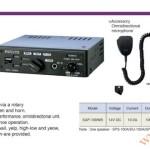 Bộ chọn tạo tín hiệu còi hú xe cảnh sát, cứu thương Patlite: SAP-100WB