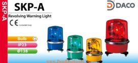 SKP-120A-B Đèn quay Patlite Φ138 Bóng Sợi đốt IP23, 220VAC