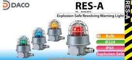 Đèn quay báo hiệu chống cháy nổ Patlite Φ224 bóng sợi đốt IP65, RES-A