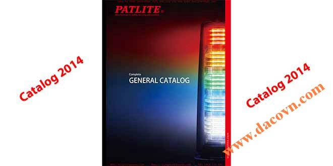 Catalog Đèn Loa Còi Báo Hiệu Tín Hiệu Cảnh Báo Patlite Nhật Bản Patlite Catalogue General_2014