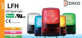 Đèn Báo Hiệu Patlite Vuông 100×100 Bóng LED Chớp IP66, LFH