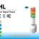 Đèn tháp Kết nối Điều khiển Mạng LAN Patlite Φ60 NHL-3FB2, NHL-3FV2