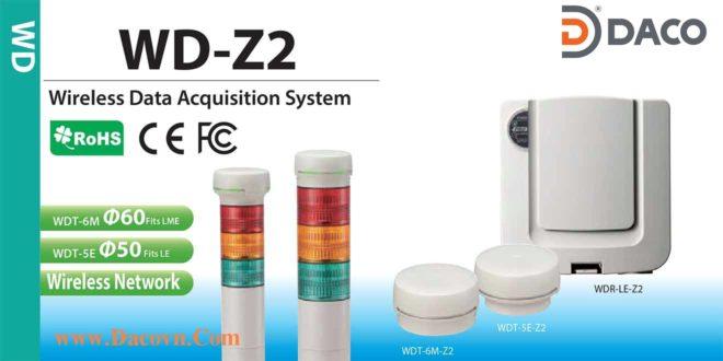 Hệ Thống Đèn Báo Hiệu Kết Nối Mạng Không Dây Patlite WD-Z2