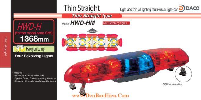 Đèn báo hiệu xe cảnh sát, cứu thương Patlite 1368mm: HWD-24HM