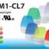 NE-M1-CL7 Đèn Báo Hiệu 7 Màu Patlite Φ57, LED, chống rung, IP66/67, NE