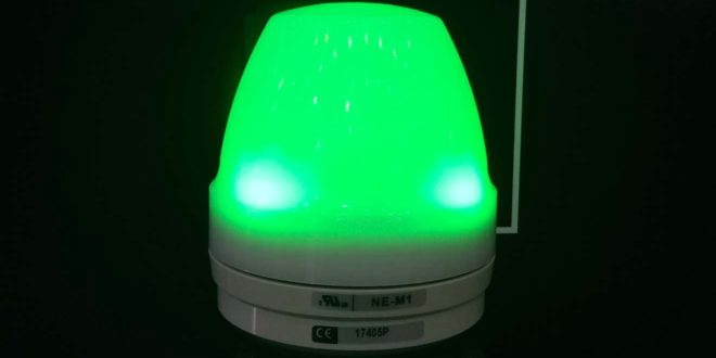 Den bao hieu 7 mau LED NE-M1 BE-CL7