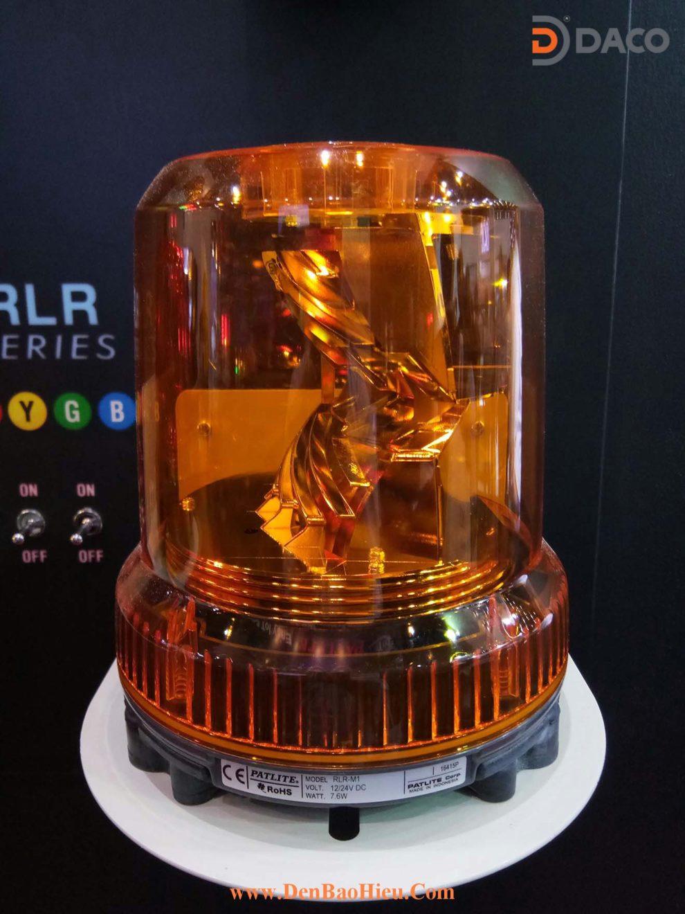 Den quay bong LED cho xe cong trinh RLR