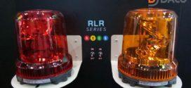 RLR Đèn Báo Xe Công Trình, Quay Chống Rung, Bóng LED, Patlite RLR Φ162: Thực Tế