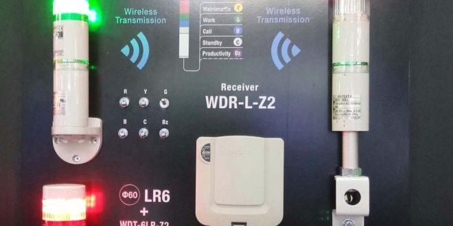 He thong quan ly trang thai san xuat khong day Wireless Data Acquisition System