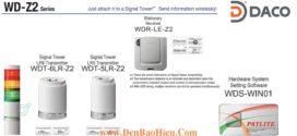 WDR-LE-Z2 Patlite Bộ Thu Tín Hiệu Không Dây Cho Đèn Tháp LR5-LR6-LE-LME