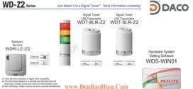 WDT-5LR-Z2 Patlite Củ Phát Tín Hiệu Không Dây Cho Đèn Tháp LR5