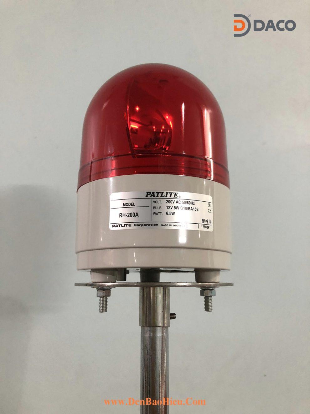 RH-200A-R-ChanInox Den bao hieu phi 100