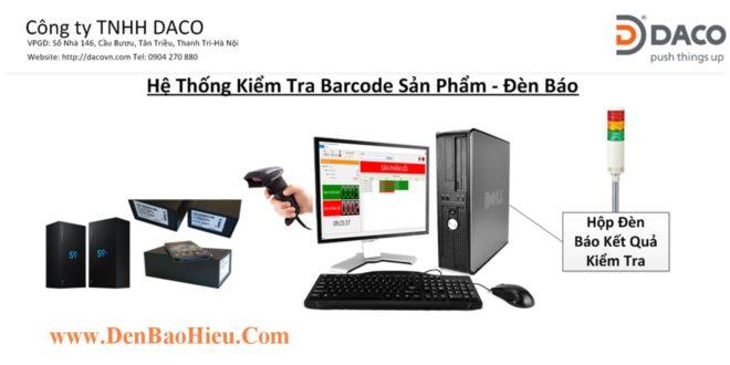 Hệ Thống Đèn Báo Kiểm Tra Barcode-DBarCheck